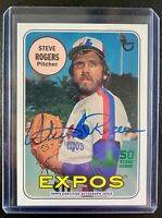 2019 Topps Archives Expos 50th Anniversary STEVE ROGERS Autograph SP /99