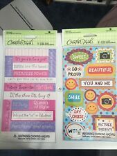 Friends Girls Queen Diva Pictures  Creative Touch Stickers Scrapbooking Crafts
