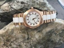Official Welsh Clogau White Ceramic and Rose Steel Watch £210 OFF!