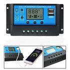 30A 12V/24V LCD Display PWM Solar Panel Regulator Charge Controller & Timer PWN