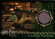 Harry Potter Prisoner of Azkaban Update Sleeping Bag Prop Card 0182/1980 ArtBox