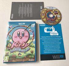 Kirby and & the Rainbow Paintbrush Nintendo Wii U Boxed PAL