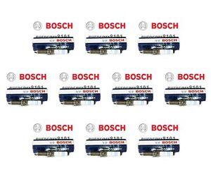 Set of 10 Porsche Bosch Spark Plugs 8124 99917015490