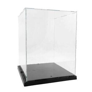 Acrylvitrine beleuchtet Transparent Acryl Vitrine Schaukasten Display Case