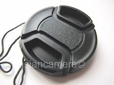 Front Lens Cap Cover For Nikon Coolpix L100 + Keeper Snap-on Dust Safety Cover