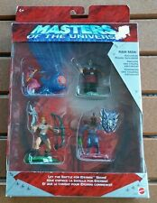 Masters Of The Universe He-Man Heroes v Villains Gift Pack 2002 Mattell Box Wear