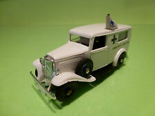 ELIGOR CITROEN 500 kgs VAN - AMBULANCE - WHITE 1:43? - VERY GOOD CONDITION
