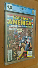 Captain America #25 1:25 Christopher #1 Homage Punching Hitler Variant CGC 9.8