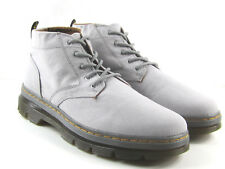 Doc Dr. Martens Bonny Canvas Boots Mid Gray New Mens Size 13 21867001