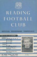 Southampton Football Reserve Fixture Programmes (1950s)
