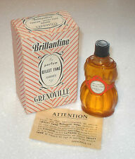 VERY RARE VINTAGE 1920/30s GRENOVILLE OEILLET FANE AMBREE BRILLANTINE PARFUM