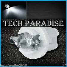 6x Ampoule B8.5D BX8.5D BAX10D ( T5 sur culot ) LED Bulb Blanc White Neo Wedge