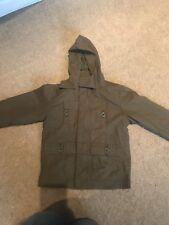 Cherokee khaki jacket with hood age 3-4 years