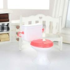 Hot 1pcs Doll Accessories Plastic Toilet Doll Toys Bathroom Home Furniture G$