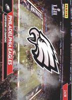2018 Panini Eagles Super Bowl LII Football Card Pick