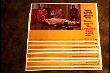 ON MY WAY TO THE CRUSADES I MET A GIRL WHO 1969 11X14 LOBBY CARD SET TONY CURTIS