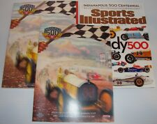 2011 Indianapolis 500 Program 2of 3 Sports Illustrated w/ Insert Dan Wheldon
