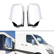 Paar Chrom Außenspiegel Gehäusedeckel für Mercedes Sprinter VW Crafter 06