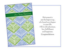 Retirement Greeting Cards ~ Single Greeting Card w/ Envelope
