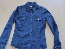 Absoluter Neuzustand! Jeans-Bikerhemd von Harley Davidson für Damen mit Gr. S