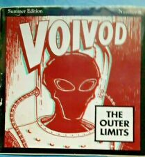 voivod - the outer limits TWO-3D hologram promo stickers-RARE 1993 PROMO