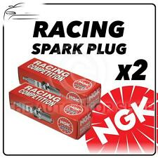 2x Ngk Racing bujías parte número b10eg Stock No. 3630 Original sparkplugs