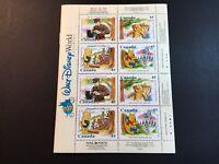 CANADA 1996 Scott 1621c WINNIE THE POOH Walt Disney 16 45c stamps & BOOKLET