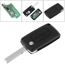 Fit For CITROEN C3 C4 C5 3 Button (Light symbol) Flip Remote Key Fob 433MHz ID46