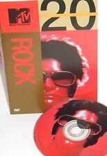 MTV-20 Rock, DVD,NEW Robert  Palmer,The Cult, Godsmack ,Aerosmith, Red hot chili