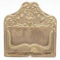 Vintage Brass Card Holder made i Italy