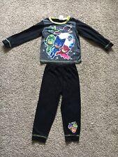 Boys Age 3-4 Black PJ Masks PJs