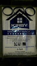 3 Belts to fit Kirby 6 UNIVERSAL AVALIR Cloth F White Sentria 2 Vacuum OEM BAGS