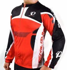 Pearl Izumi Cycling Long Sleeve Men's Top Sportswear (Red/Black) XXLARGE