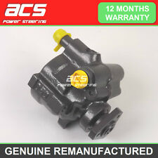 RENAULT KANGOO POWER STEERING PUMP 1998 TO 2005 1.2 16V - RECONDITIONED (No A/C)