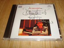 Bernd Glemser Scriabin piano sonatas piano Sonaten 1 Naxos CD signed signé