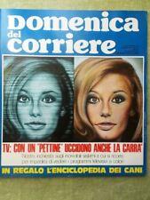 La Domenica del Corriere 22 Settembre 1974 Tv Colori Cuore Cani Dozza Mao Cile