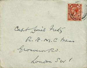 GREAT BRITAIN - 1931 PERSONAL INTERNAL COVER - 1 STAMP - W 265