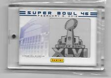 2012 Panini Super Bowl XLVI Patches #NNO Lucas Oil Stadium SB46
