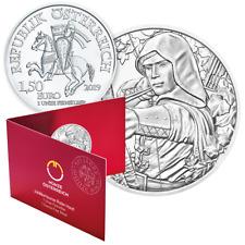 Münze Österreich 825 Jahre Wien 2019 Robin Hood im Blister 1 oz 999 Silbermünze