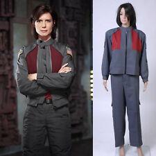Stargate Atlantis Dr. Elizabeth Weir Uniform Costume Cosplay Halloween S-3XL