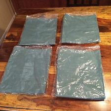 Set Of 4 Surgical Operating Trousers Large Cotton Polyester Green Scrub Pants