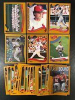 2002 TOPPS ST LOUIS CARDINALS TEAM SET (30) CARDS