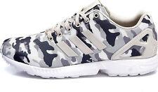 nib~Adidas ZX FLUX CAMO Running 8000 TORSION 700 Camouflage gym Shoes~Mens sz 12