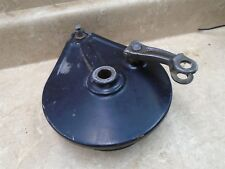Honda 500 XL XL500S XL500-S Used Rear Wheel Brake Plate 1981 HB309