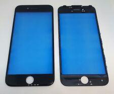 Front Glas Scheibe Touch Touchsreen Display Schwarz mit Rahmen iphone 7