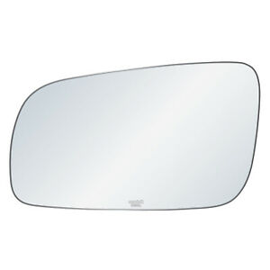 Driver Side Mirror Glass Fit VW Golf Jetta Passat Cabrio Adhesive Replacement LH