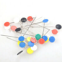 100x Sewing Accessories Patchwork Pins Flower Standing Crafting n K9A2