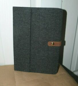 Grey Tweed 9- 10  Tablet Case - Sainsburys