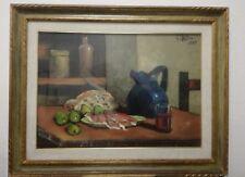 """Gianfranco Antoni """"Natura morta"""" composizione olio su tela oil on canvas 50x70cm"""