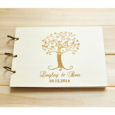 Personalized Wedding guest book,Family tree guestbook album, Bridal Shower